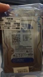 HD Interno Wd 500gb Sata 3 7.2rpm Blue (novo lacrado)