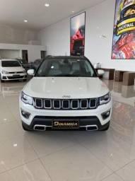 Título do anúncio: Jeep Compass Limited 4x4 Diesel 2019 - Interior Branco