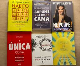 Título do anúncio: Kit livros desenvolvimento pessoal
