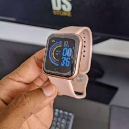 Relógio Digital y68 [Novo] notificações e foto na tela! +vendido 2021