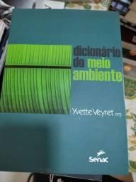 Título do anúncio: Livro Dicionário do meio ambiente<br>Yvette Veyret