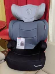 Nova Cadeira de carro da Fisher Price para crianças de 3anos a 7anos.
