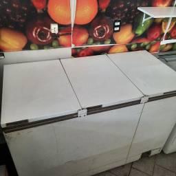 Freezer horizontal esmaltec 3 portas