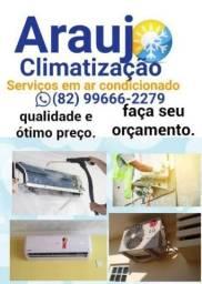 Instalação e manutenção ar-condicionado
