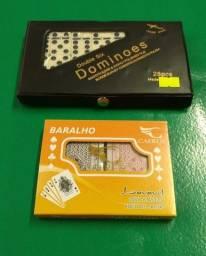 Título do anúncio: Kit de jogos dominó e baralho para laser