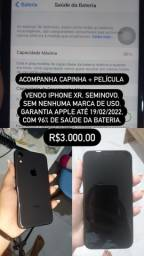 Título do anúncio: IPHONE XR SEMINOVO