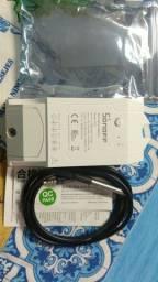 Controlador de temperatura Wi-Fi sonoff.  TH-16 COM SENSOR DE TEMPERATURA