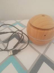 Título do anúncio: Umidificador e aromatizador cor madeira