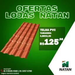 Telha PVC Oferta Da Loja Natan!