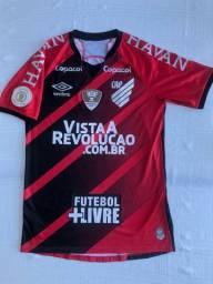 Troco Camisa Athletico Atlético Paranaense de jogo Brasileiro 2020 Wellington