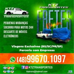 Título do anúncio: KTZ Transportes / Fretes / Viagens Exclusivas