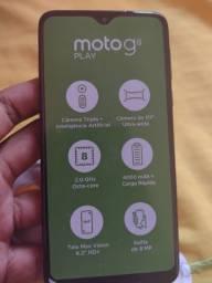 Moto g8 play preto
