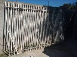 Portão 3,30m largura x 2,25m de altura
