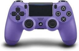 Título do anúncio: Controle PS4 Dualshock4 Electric Purple - Entrega Grátis!!!!