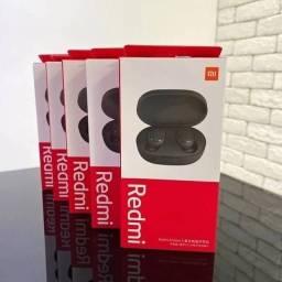 Kit Redmi airdots 2 Original + Case de silicone. ( Fone sem fio Bluetooth).