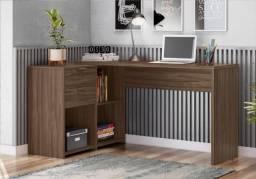 Mesa Office de Canto - Entrega Rápida