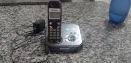 Título do anúncio: Telefone panasonic, otimo estado