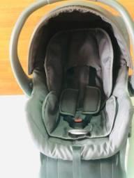 Bebê conforto Galzerano semi novo + base para o carro