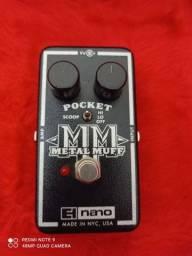 Pedal Metal Muf Nano Elétric Harmonics USA