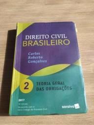Título do anúncio: Livro Teoria Geral das Obrigações