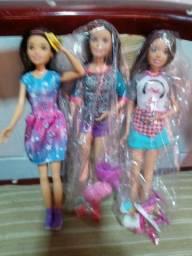 Título do anúncio: Chelsi irmã da Barbie.30.00 cada uma sendo 90.00 as 3 bonecas
