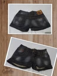 Short jeans na marca 0ppnus