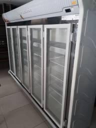 Expositor Refrigerado Auto-serviço 5 portas REFRIMATE