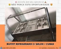 Buffet refrigerado por GeloX - Venâncio   Matheus
