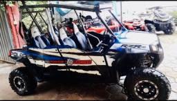 Título do anúncio: Quadriciclo UTV Polaris RZR Robby Gordon 4 Portas