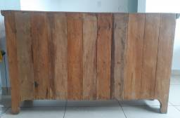 Vendo balcão de madeira semi novo