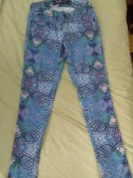 calça estampada Renner