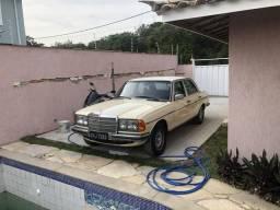 Mercedes Benz 280 1978 placa preta oportunidade