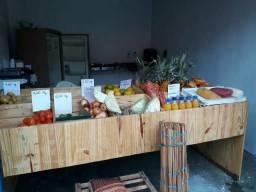 Balcão de frutas