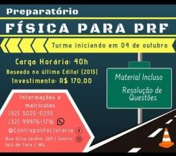 Preparatório Física para a PRF