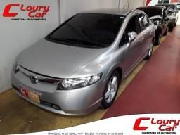 Honda Civic Exs 1.8 Automático Na Lourycar Veículos - 2007