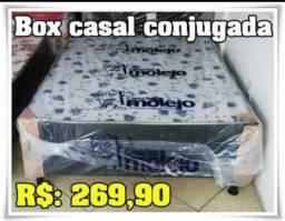 Super promoção Cama Box casal com Brinde Grátis