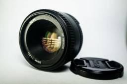 Lente Nikon 50mm f/1.8 D AF Nikkor D