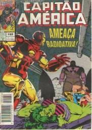 Revista em Quadrinhos - Capitão América - Ed. 182 - 1994 - 84pg - Abril-Marvel