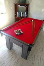 Mesa com Redinhas Cor Dakar Tecido Vermelha Mod. VYOU9985