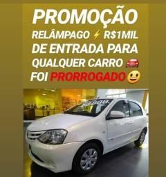 Show DO DIA!! R$1MIL DE ENTRADA(ETIOS 1.5 XS 2015)
