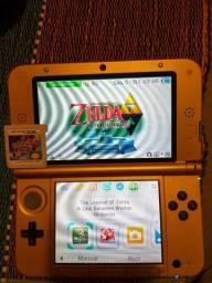 Nintendo 3DS XL - Zelda Limited Edition + 3 jogos comprar usado  Itajaí