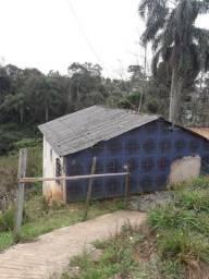 Casa com terreno enorme Borda do Campo São José dos pinhais o terreno e declive