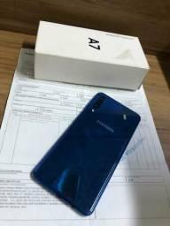 A7 2018, com 128GB semi-novo com Garantia - Sua melhor escolha!