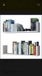 Prateleiras porta livros