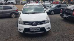 Nissan livina x gear 1.8 at completa financiamento total mesmo com scor baixo - 2014