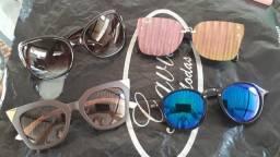 Último lotee vai LEVAR 4 óculos, 1 carteira, e max colar