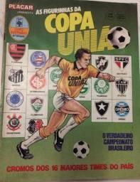 Álbum Copa União 87 Completo com envelope
