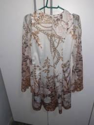 Vestidos rose longo e curtos
