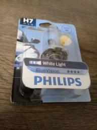 Lampada philips h7 branca para motos