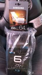 GoPro Hero 6 Black + cartão SD 64GB SAMSUNG comprar usado  Arapongas